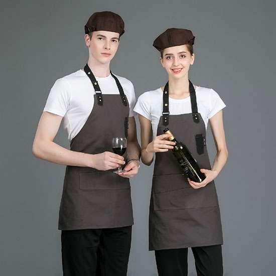 may đồng phục nhà hàng, quán ăn, quán cafe giá rẻ