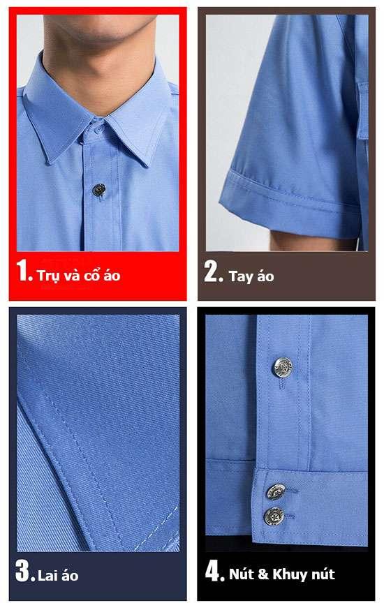 Chất lượng đồng phục bảo vệ của Gia Hân Shop luôn được khách hàng ưa chuộng và tin tưởng