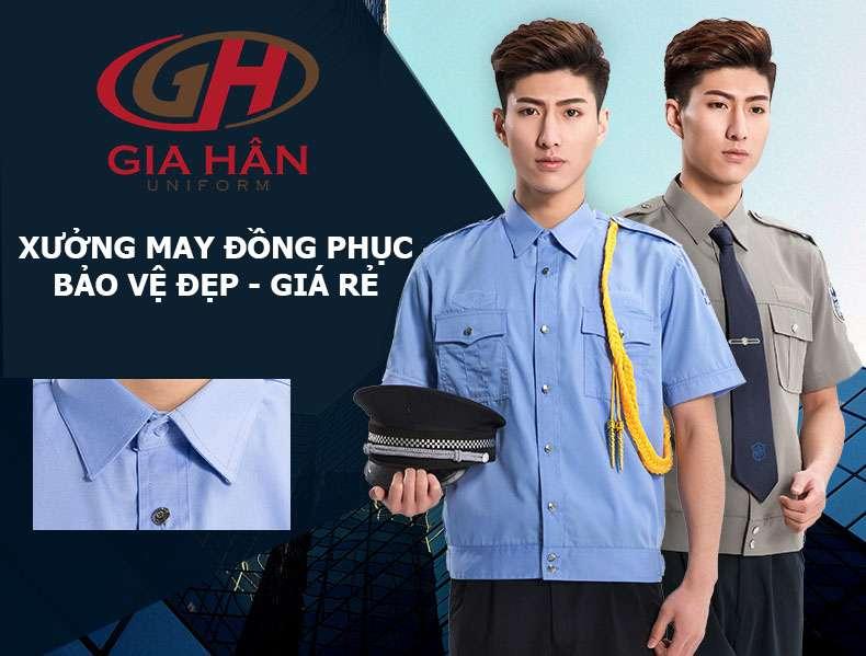 xưởng may đồng phục bảo vệ giá rẻ