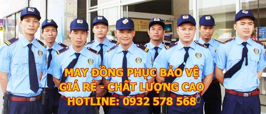 may đồng phục bảo vệ giá rẻ, uy tín, chất lượng cao