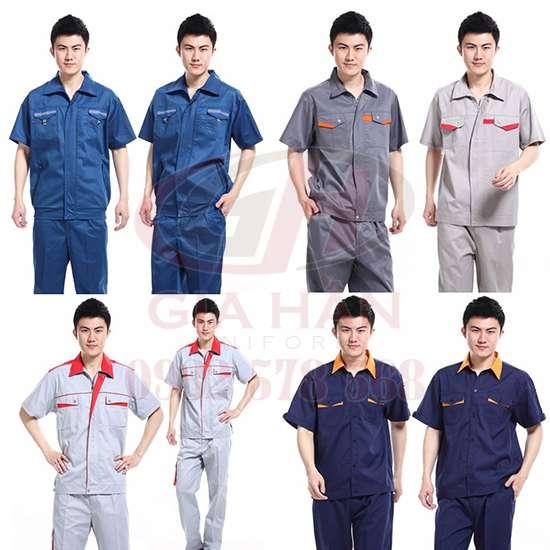 may đồng phục bảo hộ lao động, công nhân giá rẻ, chất lượng tại dĩ an