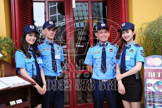 may đồng phục bảo vệ giá rẻ tại tphcm