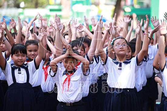 may đồng phục học sinh giá rẻ tại tphcm