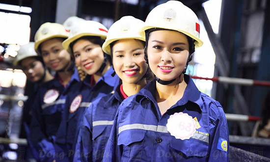 may đồng phục công nhân tại bàu bàng - bình dương