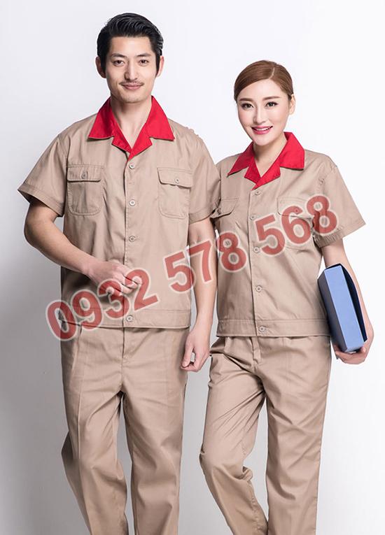 may đồng phục bảo hộ lao động cho công nhân tại quận 7