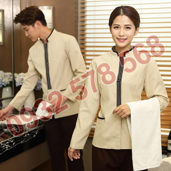 may đồng phục khách sạn đẹp, giá rẻ tại quận 2